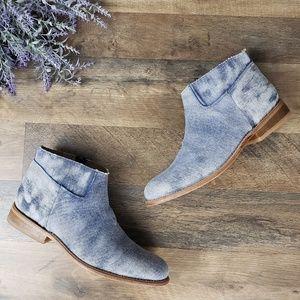 🆕️ Matisse - Duke - Distressed Denim Ankle Boots